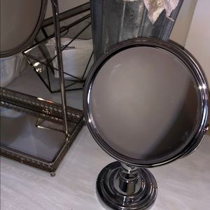 Two adorable vanity mirrors
